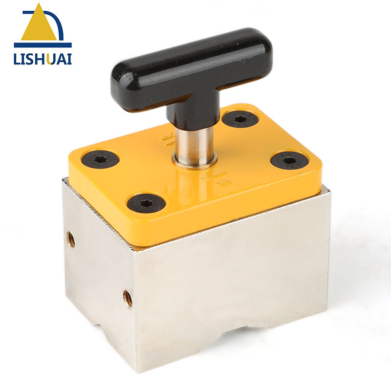 120kg Powerful On Off Square Welding Magnets Magnetic Welding Holder Clamp for Metal Wood Working