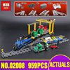 Lepin 02008 Genuine City Series The Cargo Train Set Legoing 60052 Building Blocks Bricks Toys As