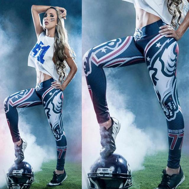 3D Print Women Sporting Leggings