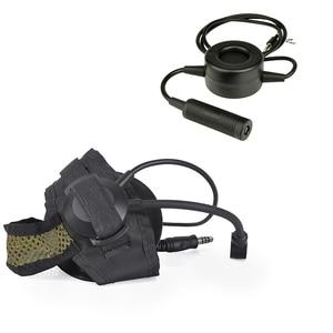 Image 4 - Z tac selex tasc1 군용 헤드셋 z028 airsoftsports 액세서리 tci softair peltor midland ptt z114가있는 전술 헤드폰
