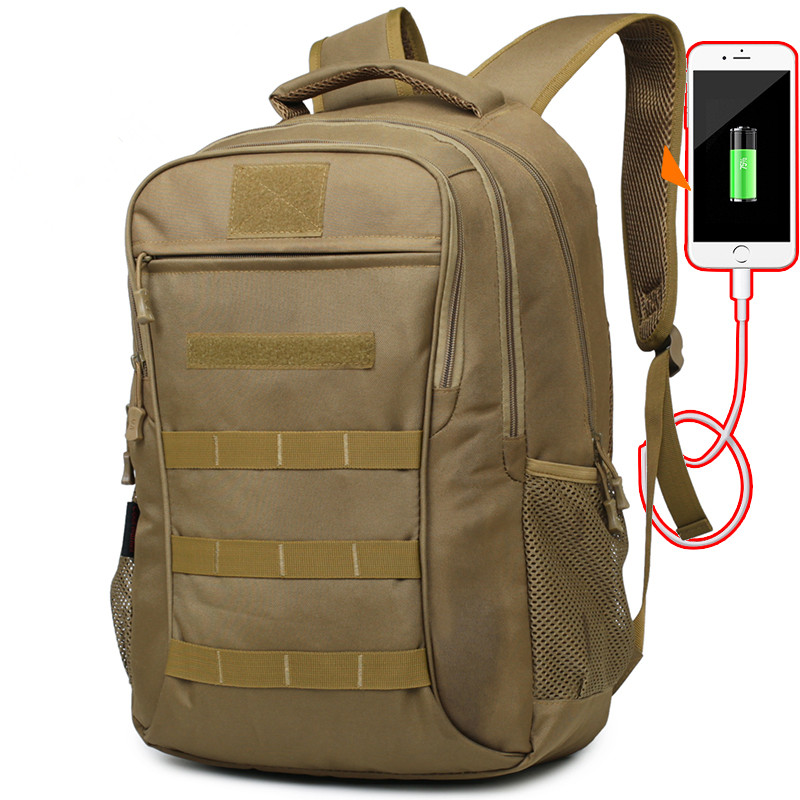 30L 40L Military Tactical Backpack Molle Waterproof USB Rucksack Shoulder Bag UK