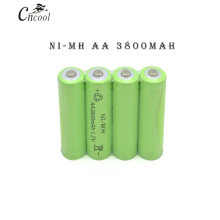 1pc a lot Ni-MH 3800mAh AA Batteries 1.2V AA Rechargeable Battery NI-MH battery for camera,toys