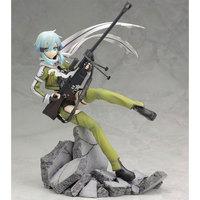 Sword Art Online II Anime Figure Asada shino Sinon Action Figure Game Gun Gale Online GGO PVC Model 8'' 20cm Collection Toys