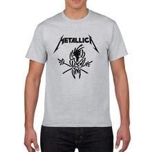 Für Fans Famous Rock Band Metallica T-shirt 2017 neue sommer 100% baumwolle raglan männer t-shirt marke-kleidung hüfte hop streetwear