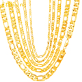 Ethlyn 18K Real Gold Plated  hiphop Link Chain Jewelry  Ethiopian Africa man necklace  jewelry gifts wholesale  N001