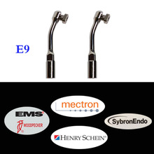 2 pcs Dental Ultrasonic Scaler Tip E9 Compatible With Woodpecker EMS, W&H, Mectron, Henryshein E series