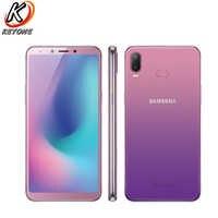 """Nouveau téléphone portable Samsung Galaxy A6s SM-G6200 6.0 """"6 GB RAM 64 GB/128 GB ROM Snapdragon 660 Octa Core double caméra arrière téléphone Android"""