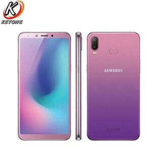 "Image 1 - Yeni Samsung Galaxy A6s SM G6200 cep telefonu 6.0 ""6GB RAM 64GB/128GB ROM Snapdragon 660 octa çekirdek çift arka kamera Android telefon"