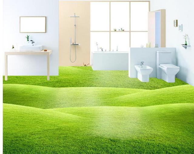 3d Fußboden Folie Kaufen ~ Moderne schöne breite grünland d boden malerei benutzerdefinierte