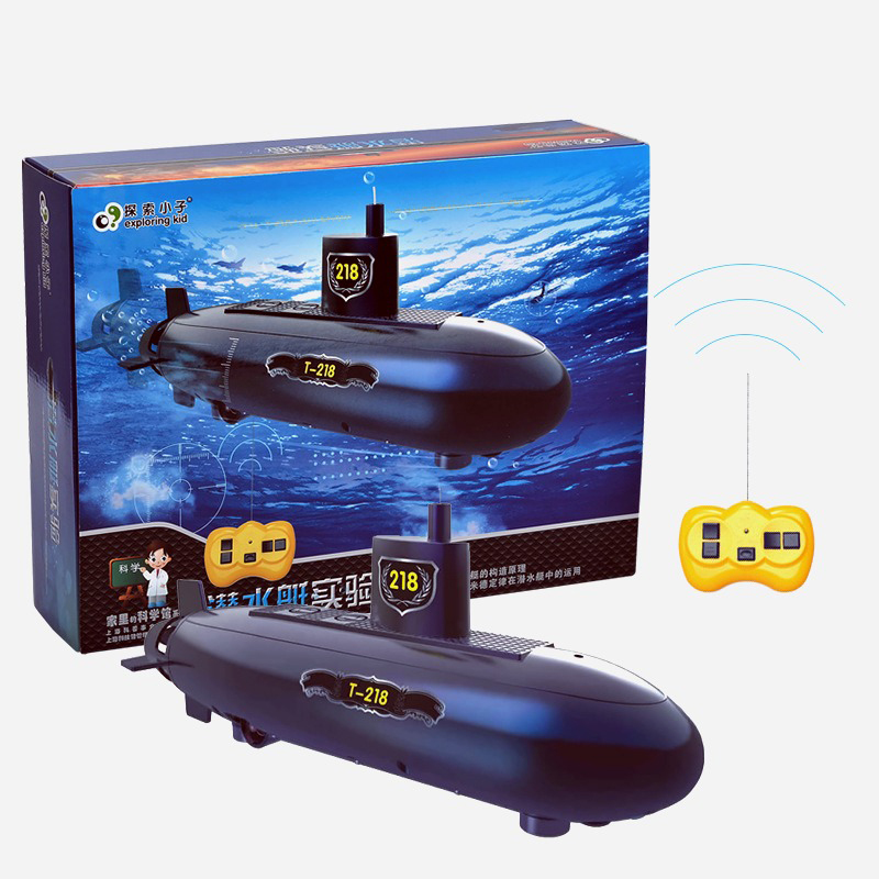 Telecontrol submarine toy Science Education Toy Creative Physics Experiment Technology Learning Toys for Children YKQST