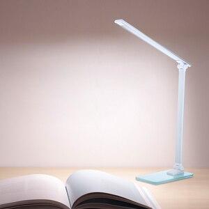 Image 5 - ¡Novedad de 2020! lámpara de escritorio con Sensor táctil, lámpara LED de mesa, luces USB regulables para estudio, brillo ajustable