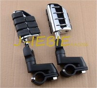 Black Front Foot Rest Foot Pegs For Honda GOLDWING GL1500 GL1100 GL1200