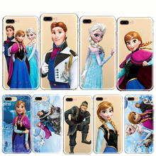 Cartoon Princess Aisha Anna Elsa Kristoff Sven Olaf Soft Phone Case Cover for iPhone 11 PRO MAX 6 6s 7 8 Plus 5 5s XR XS
