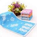 Venda quente dos desenhos animados do bebê towel super absorvente durável antibacteriano macio e confortável 25*48 centímetros de espessura moderada bebê towel