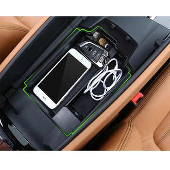 For BMW 5 Series G30 G38 2018 LHD Car Armrest Storage Box Interior