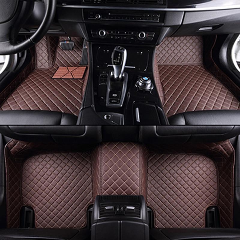 Обычай автомобиль коврики для всех моделей Mitsubishi ASX и Лансер спорт бывший Зингер ФОРТИС Аутлендер Грандис стайлинга автомобилей коврик