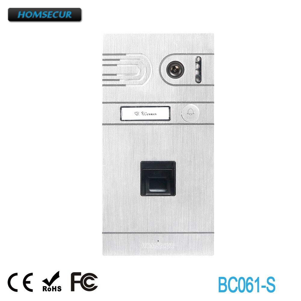 HOMSECUR BC061-S Outdoor Camera with Fingerprint Function for HDK Series Video Door Phone SystemHOMSECUR BC061-S Outdoor Camera with Fingerprint Function for HDK Series Video Door Phone System