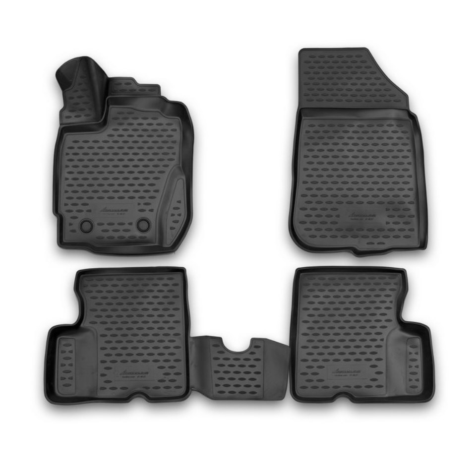3D Floor mats for Renault Duster 2015 2016 2017 Element NLC3D4140210K creative removable 3d beach toilet floor sticker