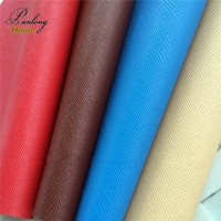 PanlongHome 1yard Leather Fabric For Wallet Handbags Shoes Leatherette Textile Upholstery Fabric For Sofa Pu Leather