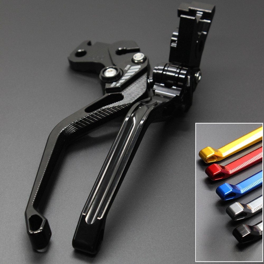 For Yamaha YZF R1 1999-2001 2000 Aluminum New Adjustable 3D Rhombus Motorcycle Accessories Brake Clutch Levers 6 colors cnc adjustable motorcycle brake clutch levers for yamaha yzf r6 yzfr6 1999 2004 2005 2016 2017 logo yzf r6 lever