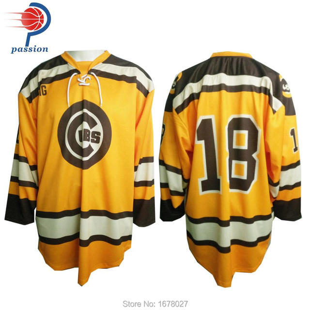 New design custom made lace up hockey jersey practice ice hockey jerseys 243da45d266