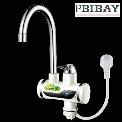 BDI3000W-6,free shipping,Indicator light Instant Hot Water Tap,Tankless Electric Faucet,Kitchen Faucet Water Heater,with EU plu bdi revo 9981 cherry