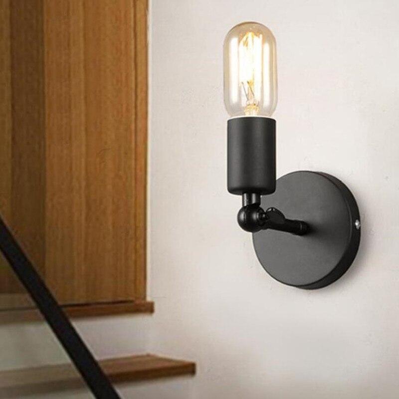 Wandlamp Abajur Selling Wall Lamp Luminaria American Simple Iron Northern Vintage Corridor Balcony Lighting Free Shipping