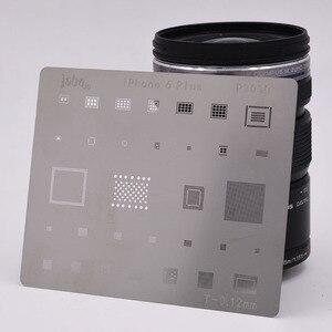 Image 3 - 12pcs IC Repair BGA Rework Reball Reballing Stencils Set for iPhone X 8 Plus 8 7 6 6S 5S 4S Template Repair Direct Heating Tools