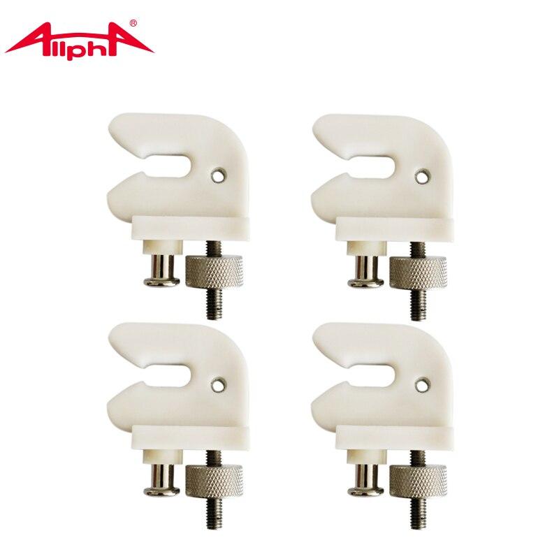 Alpha 1PC Securing Clip White U-shape Supporter For Badminton Racekt Machine Stringer Tools Parts Accessories  ACC-013