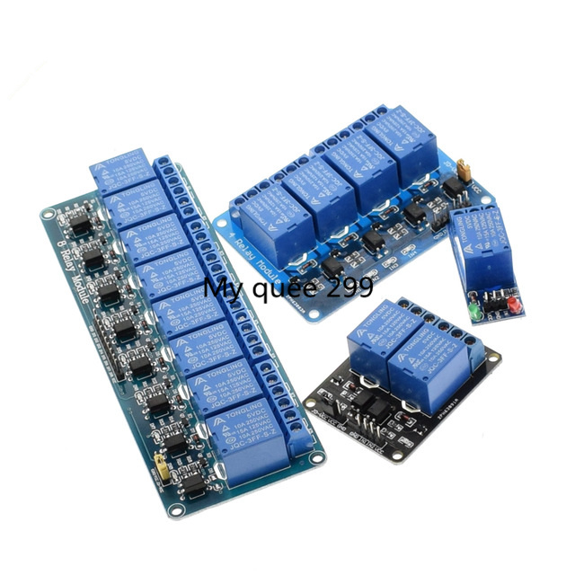 1pcs 12v 1 2 4 6 8 Channel Relay Module With Optocoupler. Relay Output 1 2 4 6 8 Way Relay Module For Arduino In Stock