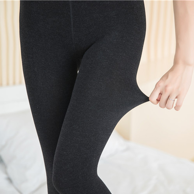 1pcs Women Sexy Pantyhose Autumn Winter Cotton Blend Tights Warm Velvet Stockings Comfortable Footed Thick Tights Collant Female