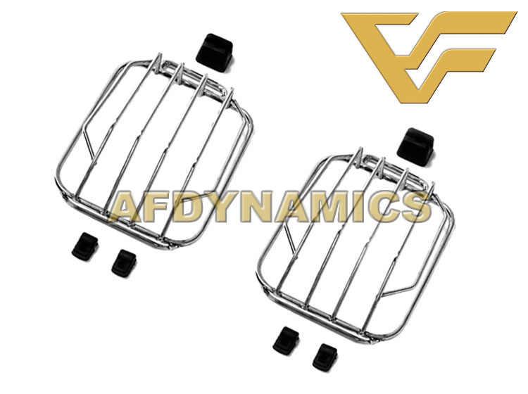 Convient pour 1990-2018 W463 G300 G350 G400 G500 G55 G63 G65 acier avant coin tournant lumière couvercle de Protection lampe capot gril