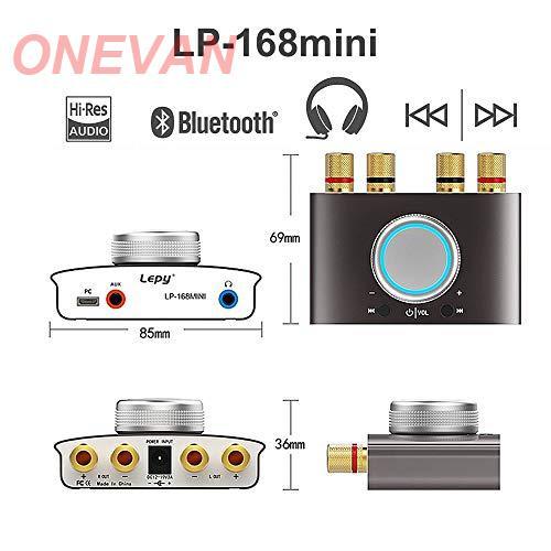 2019 dernier Nobsound Mini Bluetooth 5.0 amplificateur numérique Hifi stéréo maison Audio puissance AMP 50W + 50W noir