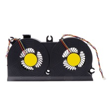 Cooling Fan Laptop CPU Cooler Computer Replacement 4 Pins Connector for