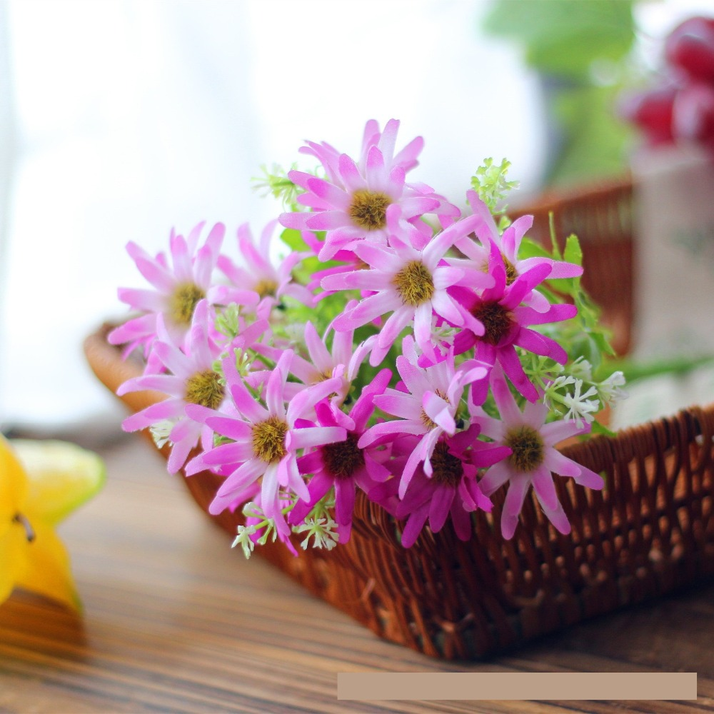 1pcs real touch decorative artificial flowers cheap vivid plastic 1pcs real touch decorative artificial flowers cheap vivid plastic fake plants silk flower wedding party festival garden decor in artificial dried flowers izmirmasajfo