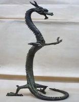 Chinese Characteristics exquisite handmade bronze dragon statue