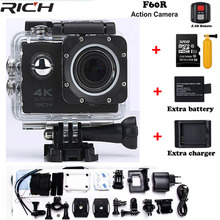 RICH Upgraded Version F60 / F60R Go Pro Style Ultra HD 4k Action Camera Wifi 2.0 Screen 170 Wide Lens Waterproof Action Cam