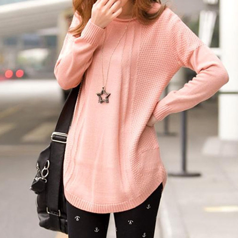 Poncho Sweaters 2015 Autumn And Winter Long Sleeve Solid Colour ...