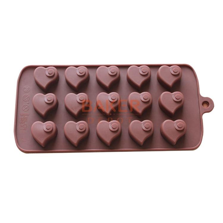 Cake Decorations Chocolate Hearts : cake decorating tools15 lattices love hearts shape DIY ...