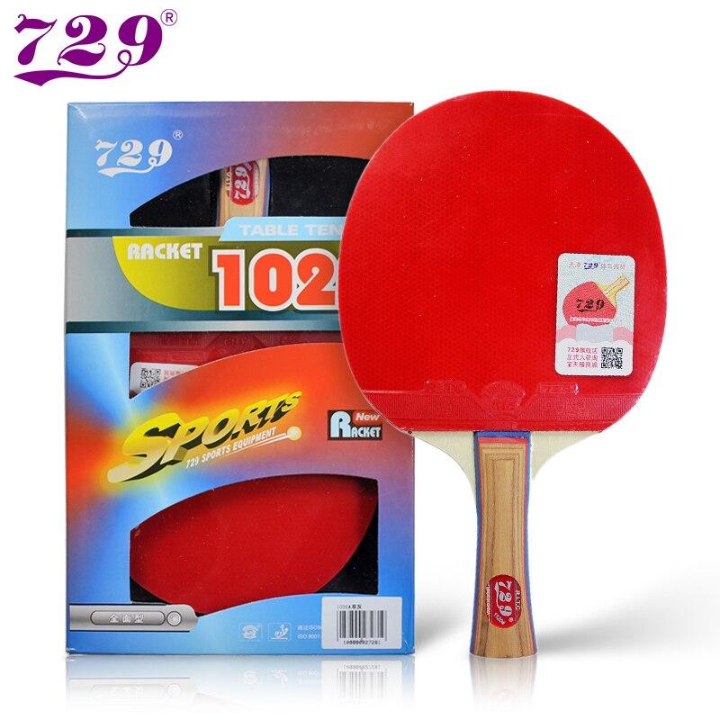 Original RITC 729 1020# Pips-in Table Tennis Pingpong Racket Shakehand Long Handle FL