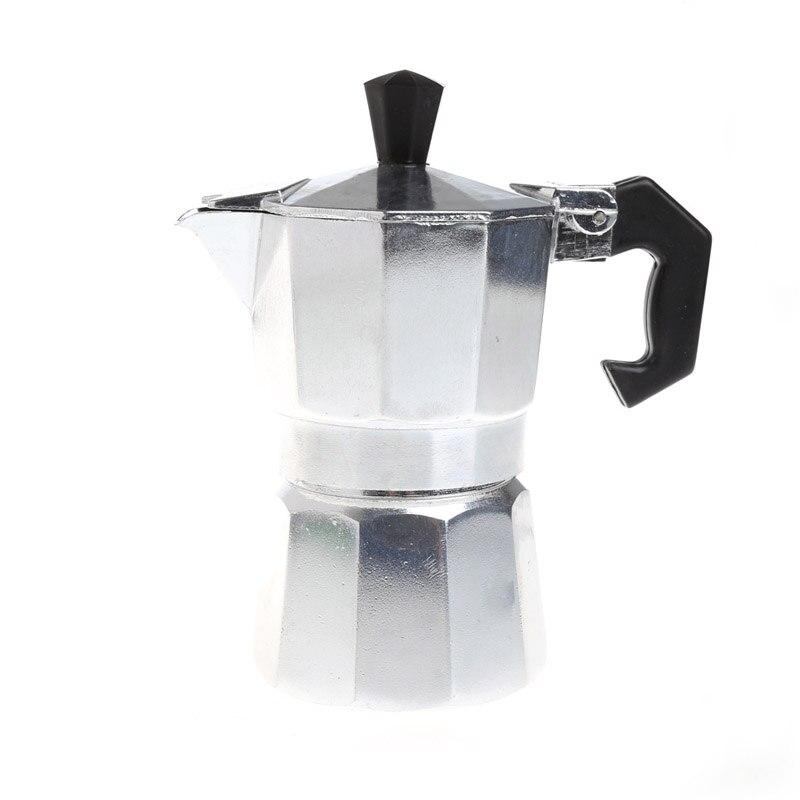 Aluminum 1 3 6 9 12 Cup Latte Mocha Coffee Pot Stove Top Espresso Maker Tool