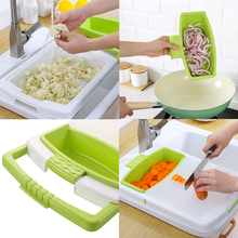 SAFE BET Multi-function Chopping Board Retractable Drain Basket