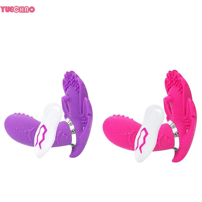 Buy 7 Speeds Wireless Wearable G-spot Dildo Vibrator Remote Control Butterfly Vagina Clitoris Stimulator Adult Sex Toys Woman