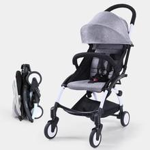 Fashion design cheap baby carriages prams portable carritos de paseo para bebes Light durable folding stroller wheelchair