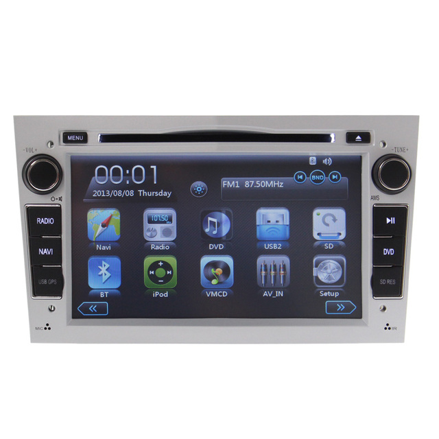 FREE MAP steering wheel control bluetooth for Vauxhall Opel Astra Vectra Antara Zafira gps navigation can bus car dvd player RDS