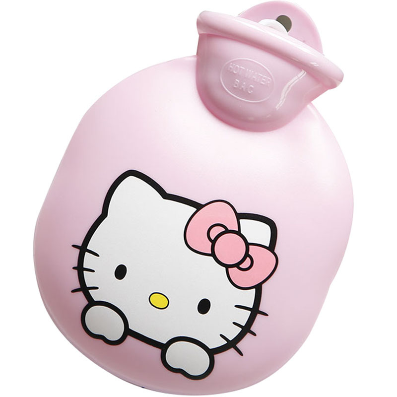 Us 29 94 Hand Warmer Hot Water Bag Hot Water Bottle Body Warmer Mini Cute Cartoon Doraemon Hello Kitty Water Filling Hot Water Bag 3 In Hot Water