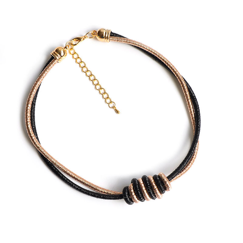 470c1a22d527b US $2.09  F&U Knot Unique Design Trendy Fashion Women Popular Short Choker  Necklace Bijoux Jewelry-in Pendant Necklaces from Jewelry & Accessories on  ...