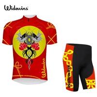 2017 NEW Women's cycling clothing cartoon can do cycling jersey short sleeve bike wear cycling clothes Rose 5889