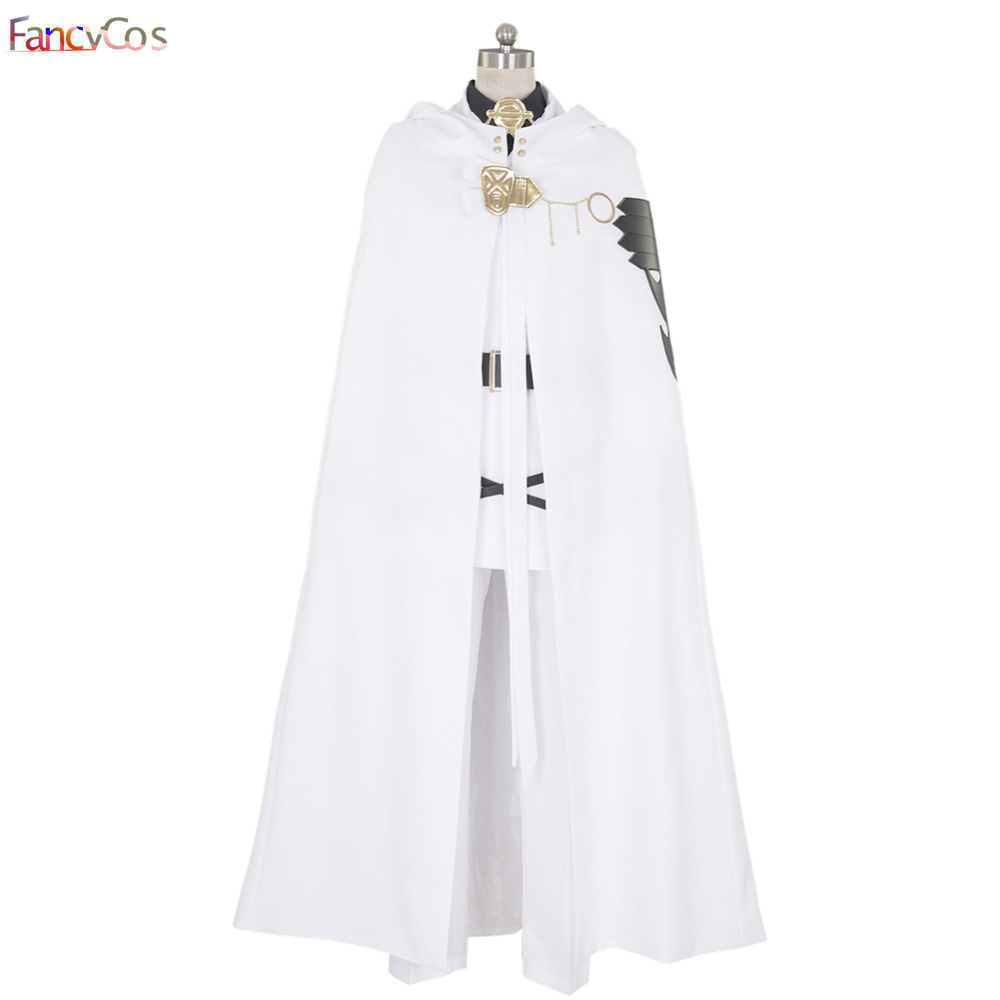 Halloween Men's Seraph of the end Mikaela Hyakuya Uniform Cosplay Costumes adult costume Movie High Quality Deluxe