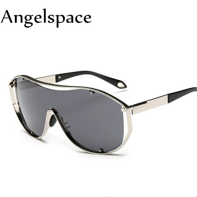51848f5c9d3 Angelspace New Fashion Brand Designer Vintage Style Sunglasses Men Flat  Lens Big Square Frame Women Sun Glasses Oculos A221